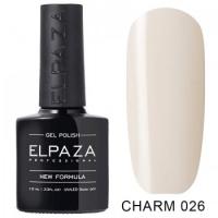Elpaza гель-лак Charm 026, 10 ml