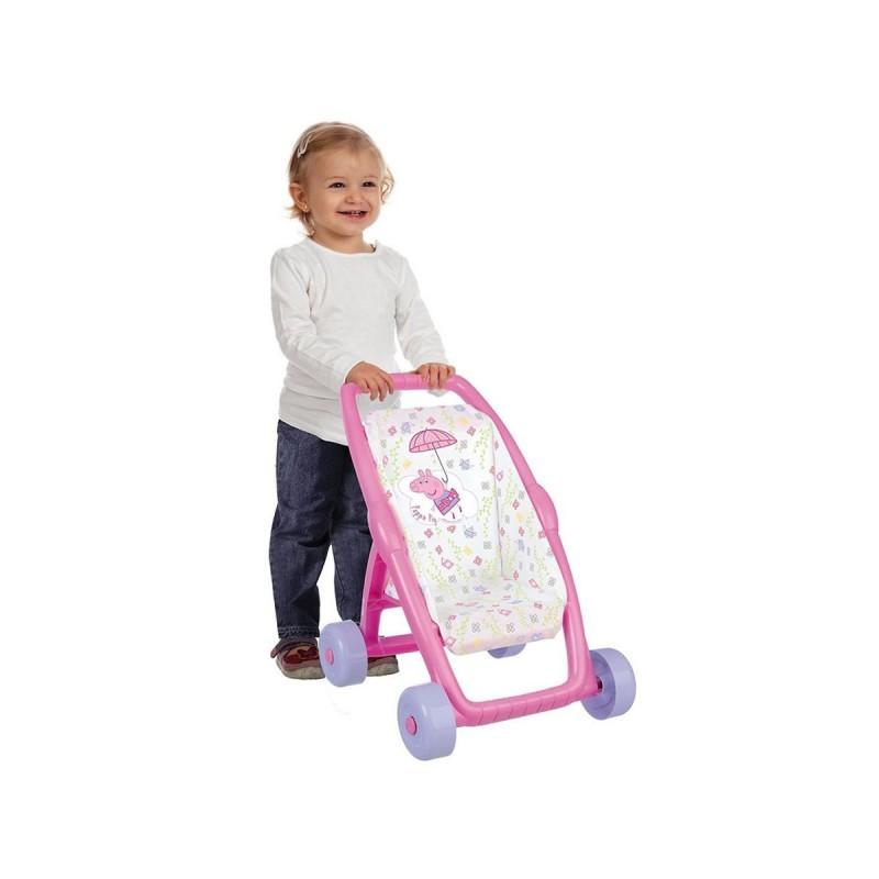 Коляска прогулочная для куклы Smoby PEPPA 250206