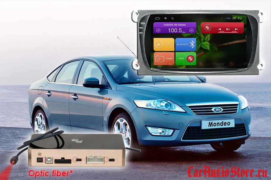 Ford Focus Redpower 31003BL IPS DSP цвет черный ANDROID 7