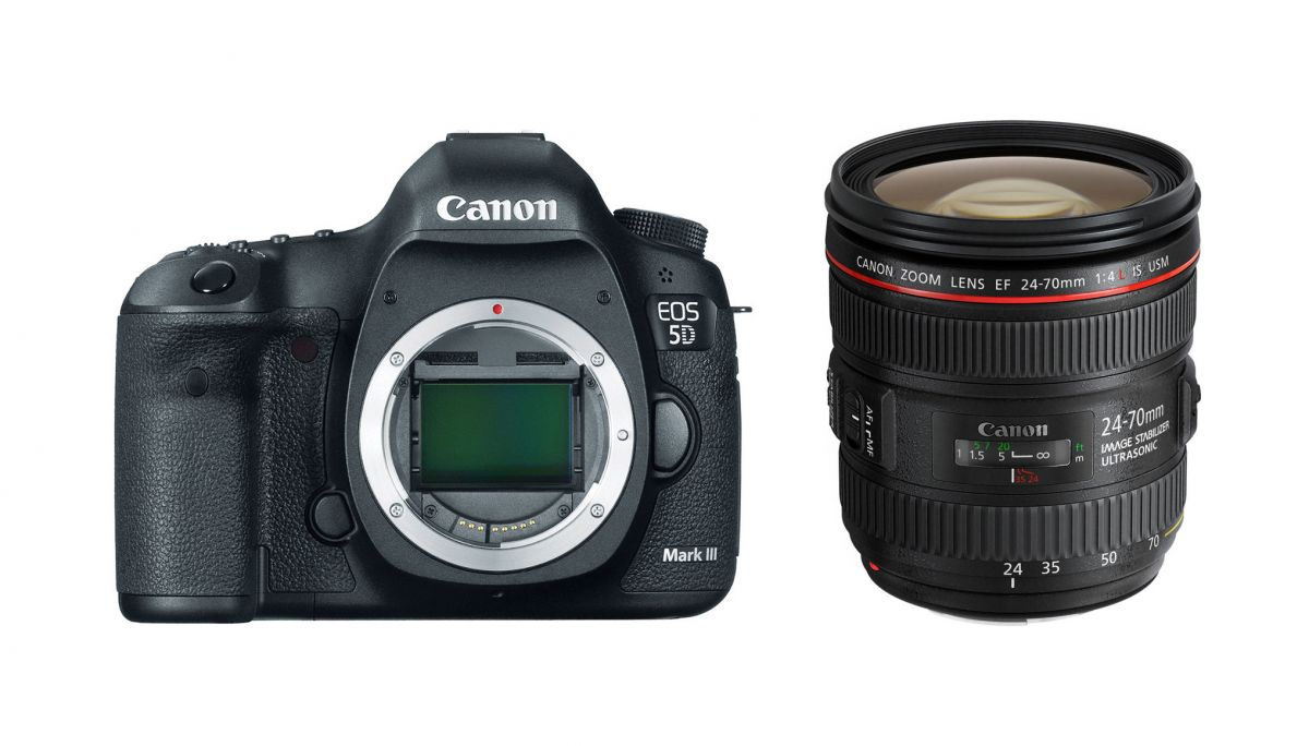 CANON EOS 5D MARK III KIT 24-70MM F4L IS