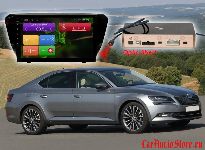 Skoda Superb Redpower 31014 R IPS DSP ANDROID 7