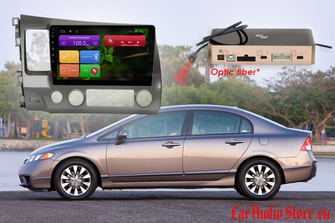 Honda Civic Redpower 31024 R IPS DSP ANDROID 7