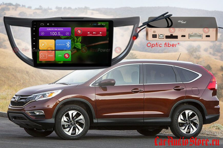 Honda CRV 2012-2016 гг. Redpower 31111 R IPS DSP ANDROID 7