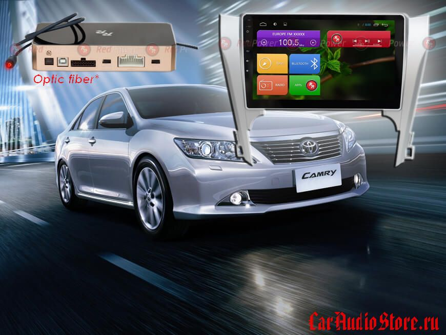 Toyota Camry V50 RedPower 31131 R IPS DSP ANDROID 7