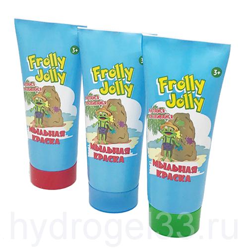 Мыльная краска для ванны Frolly Jolly