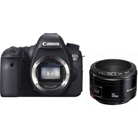 Canon EOS 6D WG Kit EF 50mm f|1.4 USM