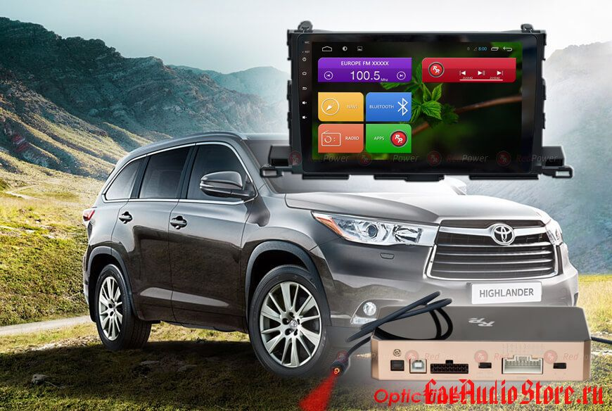 Toyota Highlander Redpower 31184 R IPS DSP ANDROID 7