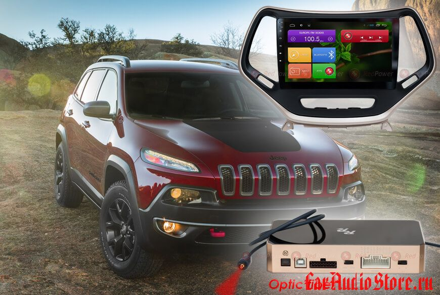 Jeep Cherokee Redpower 31215 R IPS DSP ANDROID 7