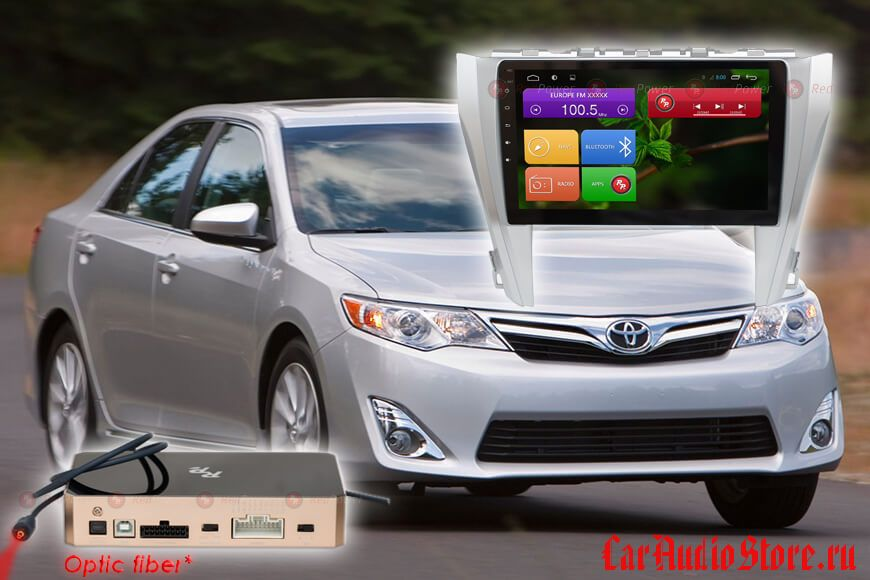 Toyota Camry V55 RedPower 31231 R IPS DSP ANDROID 7