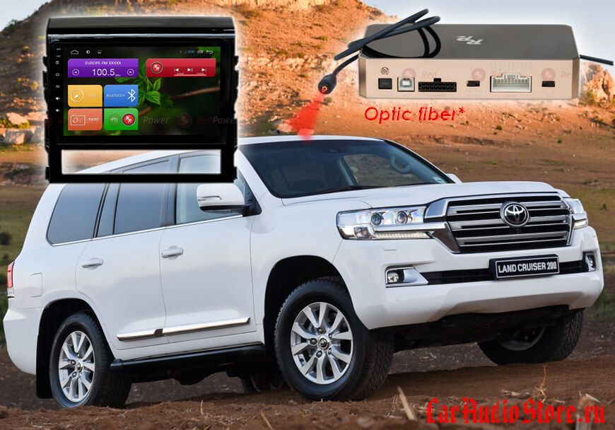 Toyota LC200 Redpower 31201 R IPS DSP ANDROID 7