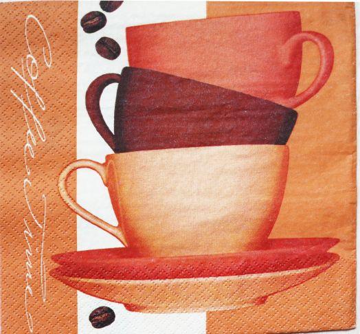 Салфетка бумажная 30*30 Гора посуды