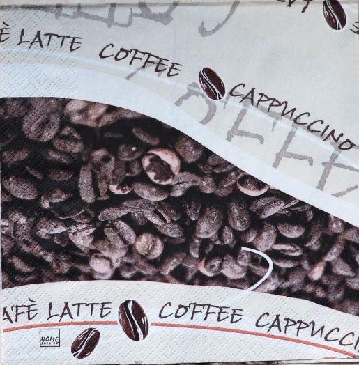 Салфетка бумажная 30*30 Любитель кофе