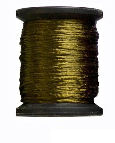 Ацетатный шелк 10м. зел. павлин