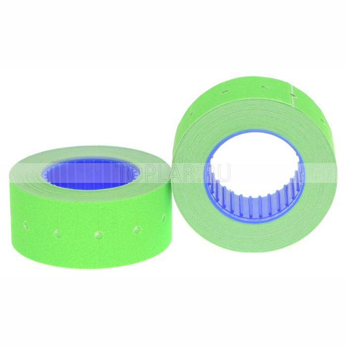Этикет лента зелёная