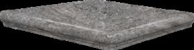 Ступень угловая SDS Keramik Frankfurt Eckflorentiner Blaugrau 32×32
