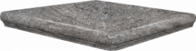 Ступень угловая Frankfurt Eckflorentiner Blaugrau 32×32