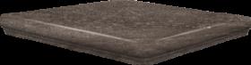 Ступень угловая Frankfurt Eckflorentiner Erdbraun 32×32