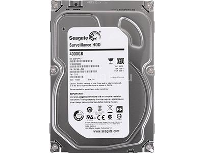 Жесткий диск Seagate Surveillance 4TB SSD, ST4000VX000