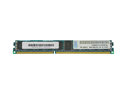 Оперативная память IBM 4Gb 1333 ECC VLP RDIMM, 43X5313, 46C0575