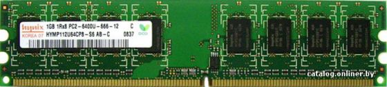 Оперативная память Hynix DDR2-800 1024MB PC2-6400, HYMP112U64CP8-S6