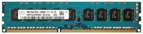 Оперативная память Hynix 8GB 2Rx8 PC3-12800E, HMT41GU7MFR8C-PB