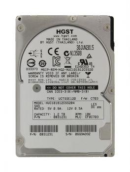 Жесткий диск HGST Ultrastar C10K1800 1.2TB 2.5 SAS, HUC101812CSS204
