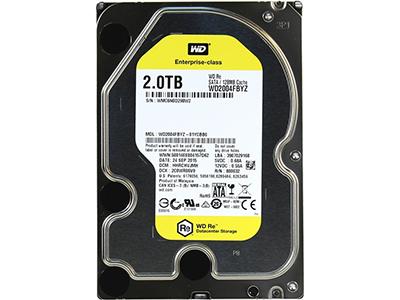 Жесткий диск Western Digital RE 2Tb 6G 7,2K 128Mb SATA 3.5, WD2004FBYZ