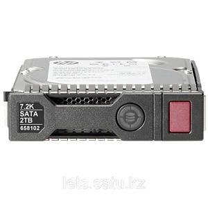 Жесткий диск HPE 2TB 6G SATA 7.2K rpm LFF 3.5 SC 872489-B21
