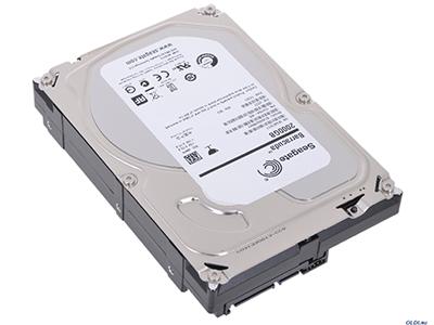 Жесткий диск Seagate HDD 2 Tb SATA 6Gb/s Seagate Barracuda ST2000DM001