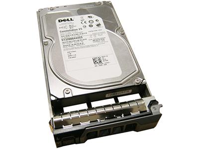 Жесткий диск Dell 2-TB 6G 7.2K 3.5 SAS W/F238F, R755K