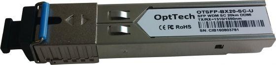 Модуль SFP OptTech OTSFP-BX20-SC-U