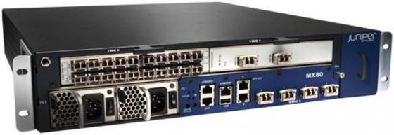 Маршрутизатор Juniper MX80-48T-DC-B