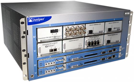Маршрутизатор Juniper M10iE-AC-RE400-B