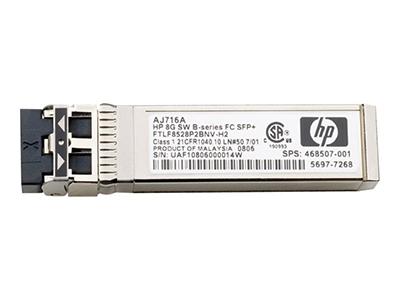 Оптический трансивер HP 8Gb SFP+ SW, AJ718A