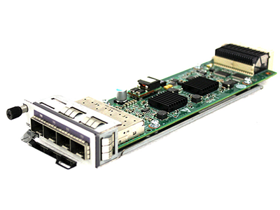 Модуль для коммутаторов Huawei 4-Port 10GE SFP+ LS5D00E4XY00, 02319296