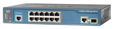 Коммутатор Cisco Catalyst WS-C3560C-12PC-S