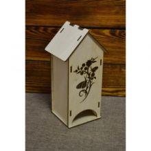 Чайный домик с узором и бабочками №2 03-083