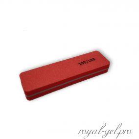 Баф прямоугольный mini красный 100/180