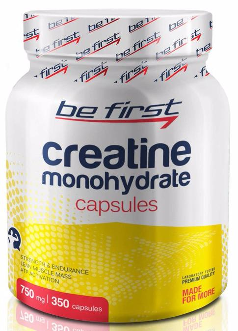 Creatine Monohydrate Capsules от Be First, 350 капсул