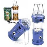 Складной кемпинговый фонарь с Диско-Шаром 4-в-1, 19 см
