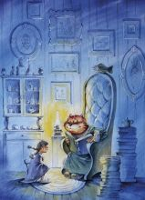 Почтовая открытка Сказка на ночь