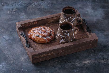Поднос для подачи в кофейне. Арт. 1359