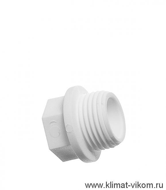 Заглушка резьбовая 20 мм НР