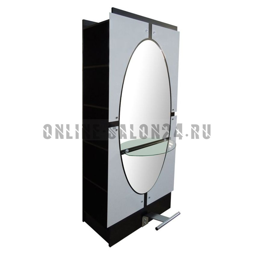Парикмахерское зеркало Овал 2-х стороннее