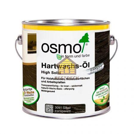 "Масло с твердым воском ""Эффект Металлик"" OSMO Hartwachs-Ol Effekt Silber/Gold"