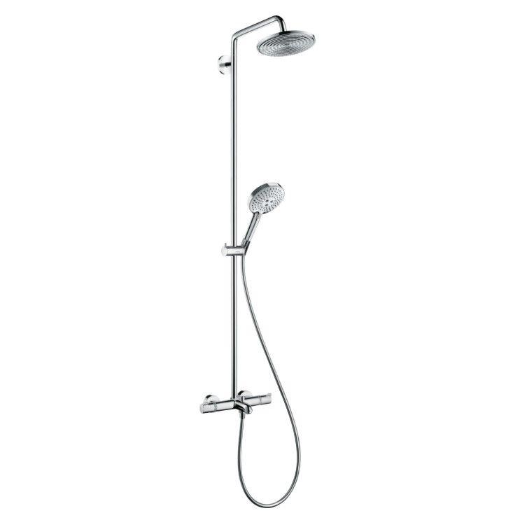 Душевая стойка с изливом Hansgrohe Raindance S Showerpipe 240 1jet 27117000 ФОТО