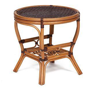 Журнальный столик из натурального ротанга  Пеланги Pelangi