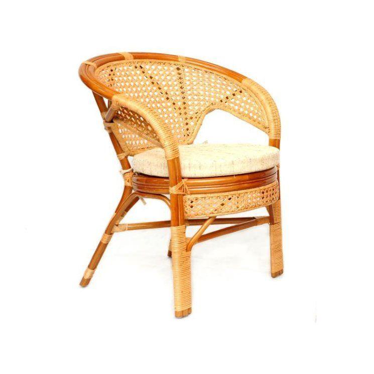 Кресло из натурального ротанга Пеланги Pelangi без подушки