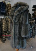 Дорогая шуба из седого соболя купить в Москве фото