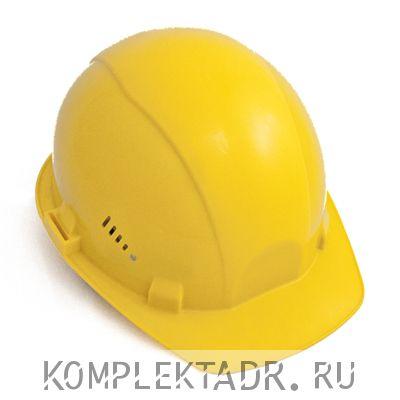 Каска защитная, желтая
